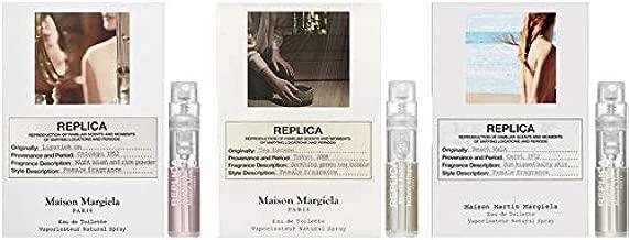 Maison Martin Margiela Eau de Toilette Replica Sample Trio 0.04 oz/1.2 ml each