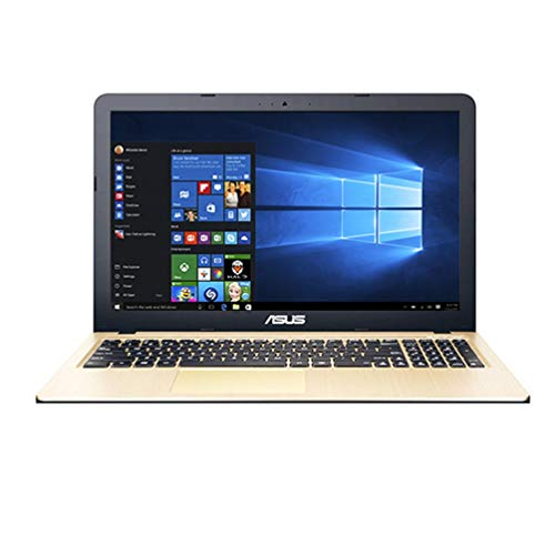 ForceSthrength Computadora portátil ASUS F Series F556UQ7200 Pantalla LED HD de 15.6 Pulgadas Laptop PC Gold