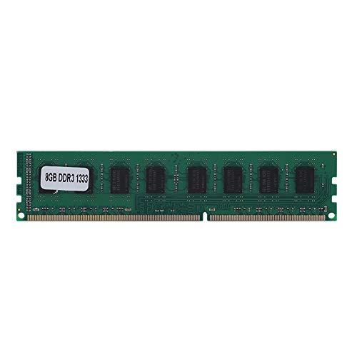 Taidda- DDR3-Speicher, robust, langlebig, 8 GB DDR3, 1333 MHz, 240Pin für AMD-Desktop-Motherboard, dedizierter Arbeitsspeicher (RAM)