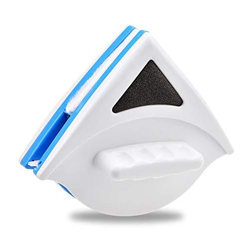 Ouumeis Einfach Verglaste Fensterreiniger Glaswischer Magnetreinigungswerkzeuge, Segelflugzeug Waschglas-Reinigungsbürste Für Hoch Aufragende Einfach Verglaste Fenster Dicke 3-8Mm/7-15Mm,Blue s3_8mm