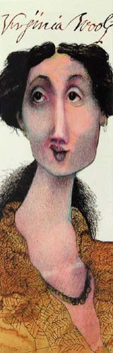 Literary Luminaries Virginia Woolf Bookmark
