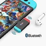 NetDot Adaptador Bluetooth con Conector USB-C para Nintendo Switch / Switch Lite,Compatible Sony,Bose,PC y Auriculares Bluetooth