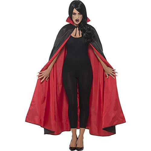 SMIFFYS Mantello reversibile vampiro, Bianco e Rosso, 127 cm