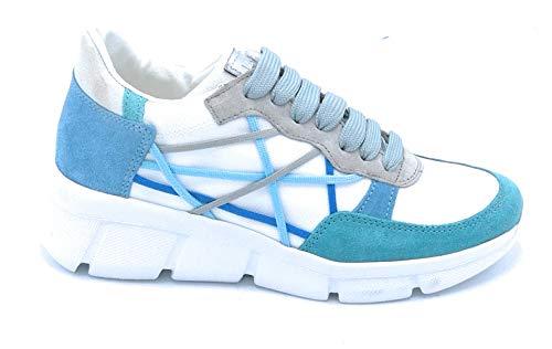 Mister Big L4K3 07 Sneaker Lacci Tela-camoscio Multicolor - Taglia Scarpa 39 Colore Multicolor