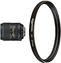 Nikon AF-S DX NIKKOR Vibration Reduction Zoom Lens with UV Protection Lens Filter - 67 mm