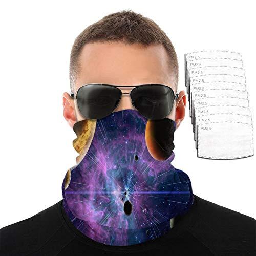 Toalla facial 3d Space Fantasy para hombres y mujeres, deportes al aire libre, resistente al viento, transpirable, variedad