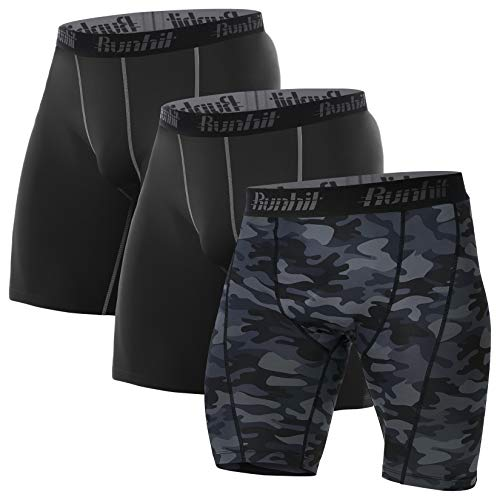 5. Runhit Pantalones de compresión para hombre