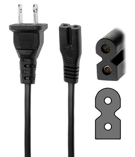 AFKT AC in Power Cord Outlet Plug Replacement for Verizon FIOS Cable Box Cisco CHS 335HDC CHS 435HDC CHS335HDC CHS435HDC 4038338 CATV Converter Motorola HD QIP7100 1 QIP7100 2 QIP71002 TV Set TOP