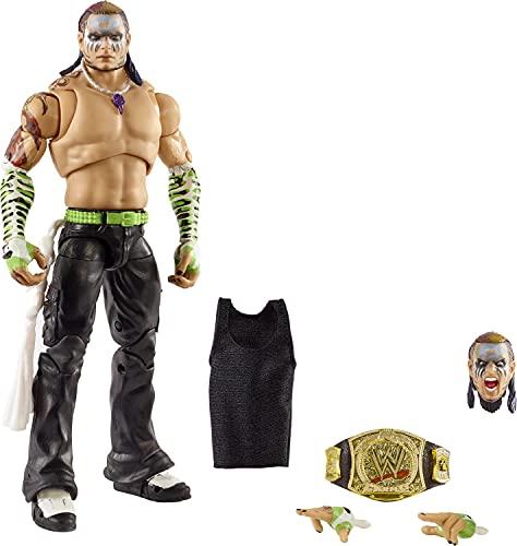 WWE Jeff Hardy, muñeco articulado de juguete (Mattel HCH14)