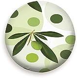 Beth-D Verde Olivo Polka Poliéster Universal Repuesto Rueda Cubierta del Neumático Cubiertas De Las Ruedas 14-17inch