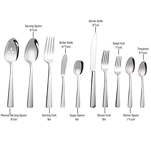 Brightown 45-Piece Silverware Flatware Cutlery Set