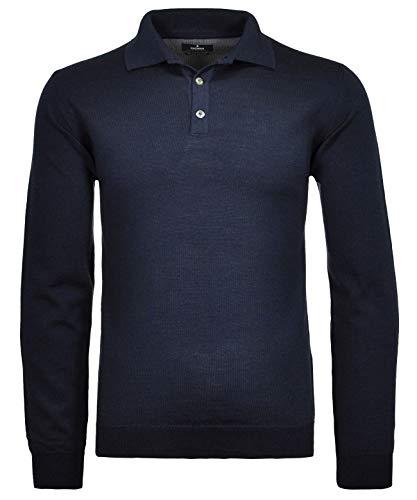 Ragman Herren Polo-Pullover Merino