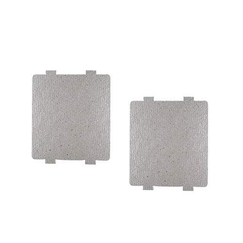 Waveguide Cubierta para Frigidaire 5304464061, Reparación de Horno Microondas Parte Mica platos (2 unidades)