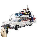 LYCH Kit de iluminación LED con mando a distancia LEGO 10274 Creator Expert Ghostbusters ECTO-1 para coche, compatible con LEGO 10274, sin juego Lego