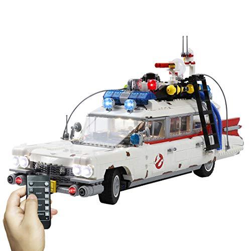 Yovso Juego de iluminación para coche Lego 10274 Creator Expert Ghostbusters ECTO-1, juego de iluminación LED, compatible con Lego 10274 (solo luces LED, no LEGO)