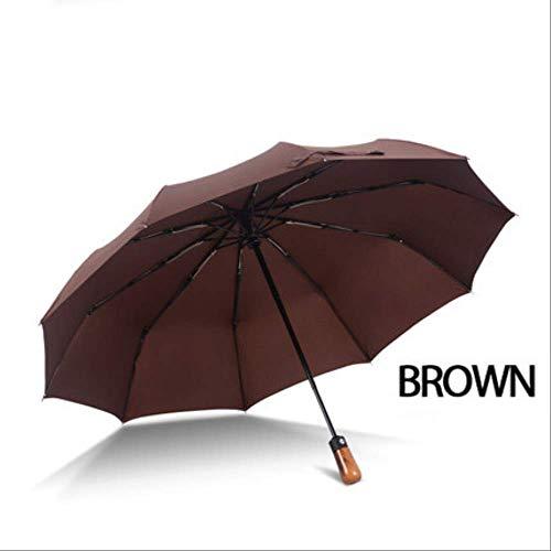 AMZIJ UmbrellaFolding Umbrella Men Automatique Coupe-Vent...
