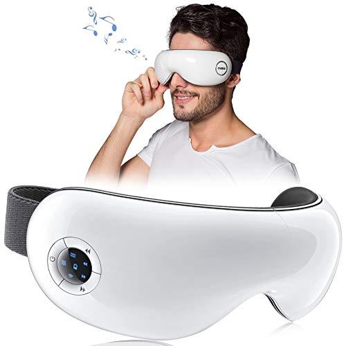 CLORIS Drahtloses Faltbares Wiederaufladbares Augenmassagegerät Elektrische tragbare...