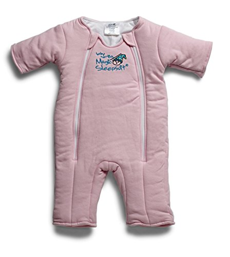 Price comparison product image Baby Merlin's Magic Sleepsuit - Swaddle Transition Product - Cotton - Pink - 6-9 Months