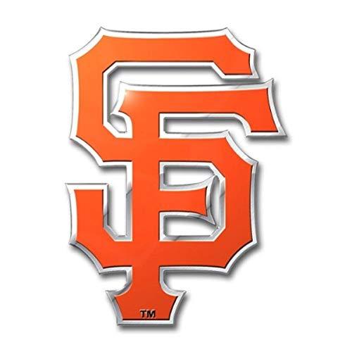 MLB San Francisco Giants Die Cut Color Automobile Emblem