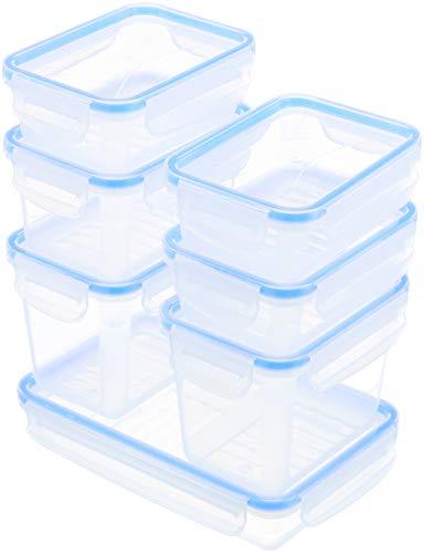 AmazonBasics - Set mit 7 Clip-Behältern