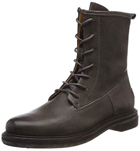 Shabbies Amsterdam Damen SHS0276 Biker Boots, Grau (Grey 2057), 41 EU