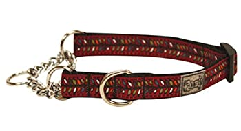 RC Pet Products 5/8-Inch Training Martingale Dog Collar Small Bracken