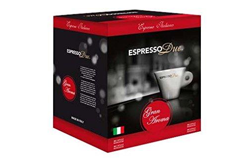 Espresso Due 25 Capsule Caffe Gran Aroma per Nuove Macchine cod. 315-321-327