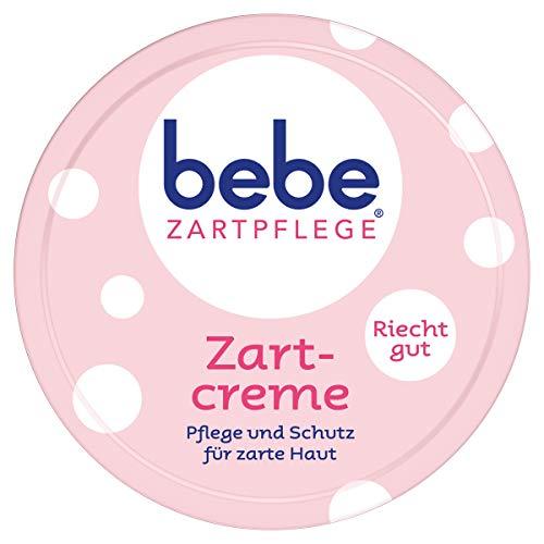 bebe Zartpflege Zartcreme, für zarte, junge Haut, feuchtigkeitsspendende Creme für Kinder (1 x 150 ml)