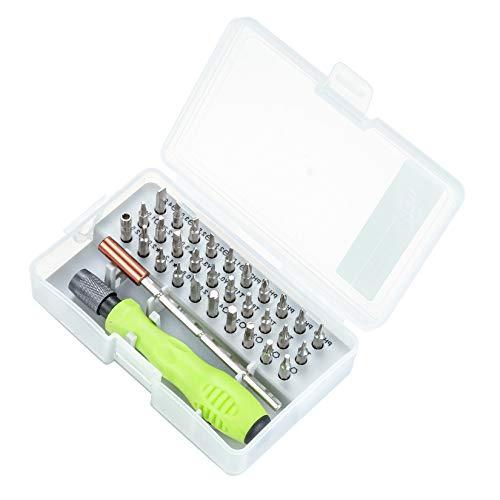 Schraubendreher Set 32 In 1, Feinmechaniker Set, Smartphone Reparatur Set, Kamerabrille Elektronik Werkzeug Mini Schraubenzieher Set Für Uhren, Handy