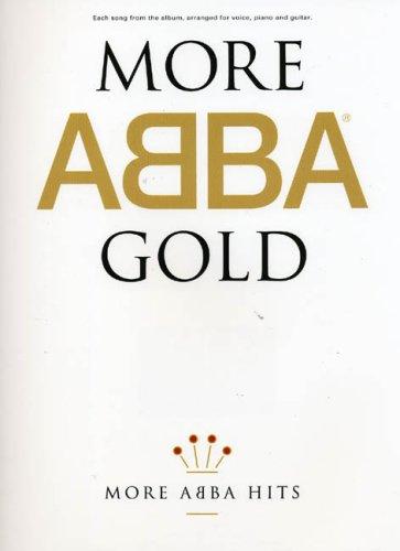 ABBA: More Gold (PVG Album): Noten für Gesang, Klavier (Gitarre)