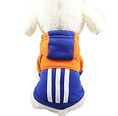 Pet Dog Puppy Classic Sweater Coat Tops Fleece Warm Winter Knitwear Clothes