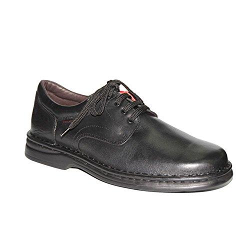 Zapato de Cordones Muy Resistente Tolino en Negro Talla 42