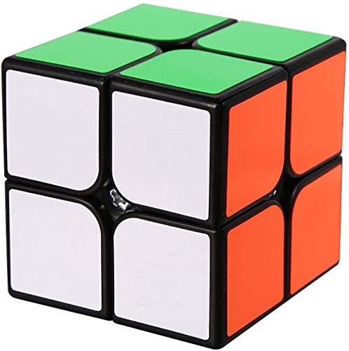 ROXENDA Speed Cube Professionale 2x2 Magic Cube - Facile da Girare e Smooth Play - Adesivo Super Resistente con Colori Vivaci, Il Miglior Giocattolo Magico di Puzzle 3D