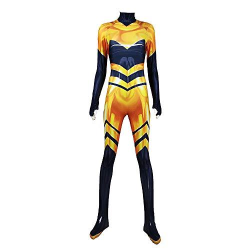 ALBRIGHT Kinder Festlich Jumpsuit Cosplay Kostüm Queen Bee,Party Halloween Karneval Weihnachten Fasching Kostüm (S)