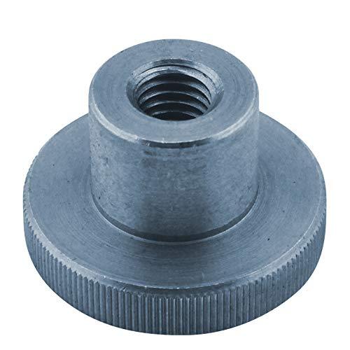 D2D - Tuercas moleteadas (4 unidades, tamaño M 5, según DIN 466, acero galvanizado)