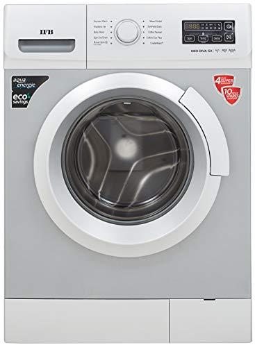 IFB 6 Kg Fully-Automatic Front Loading Washing Machine (NEODIVA-SX, Silver)