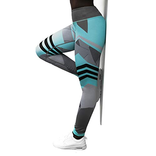 Mdsfe Yoga Pants S-XXXL Skinny Sports Female Fitness Tights Slim Elastic Running Tights Vrouwen Tights M Blue-a610