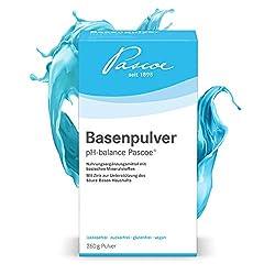 Pascoe® Basenpulver pH-balance Pascoe: Magnesium, Calcium & Zink - für den Säure-Basen-Haushalt - Haut, Haare & Nägel - Basenfasten - vegan - ohne Zusatzstoffe - hergestellt in Deutschland - 260 g