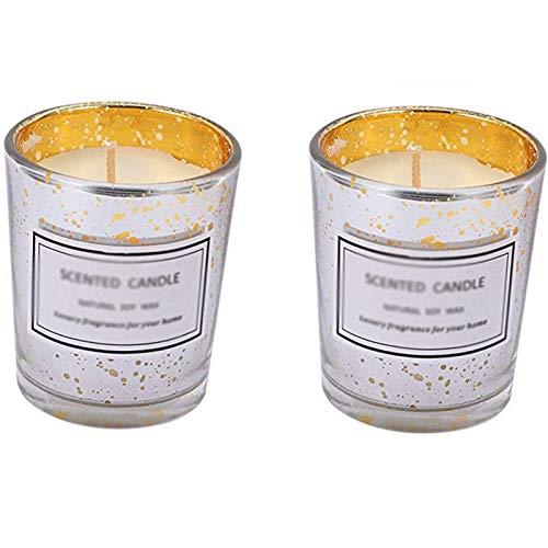 Doftande ljus, aromaterapi ljus utsökta naturliga soja vax ljus gåva för yoga meditation...