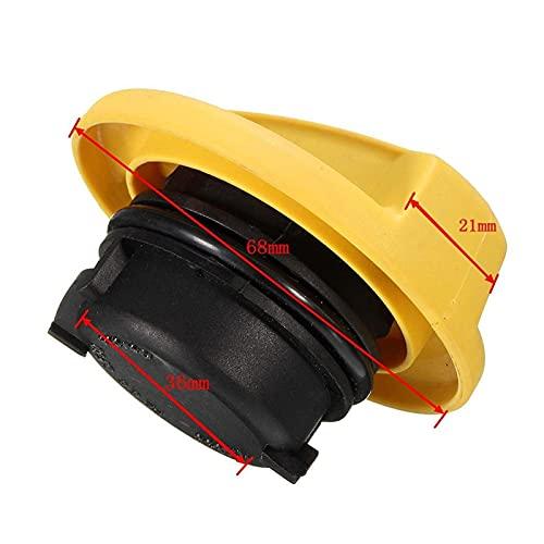 FEICHUAN Casquillo de Filtro de Aceite de Combustible del Motor de reemplazo Forma para Vauxhall Opel Astra Corsa (Color : Yellow)