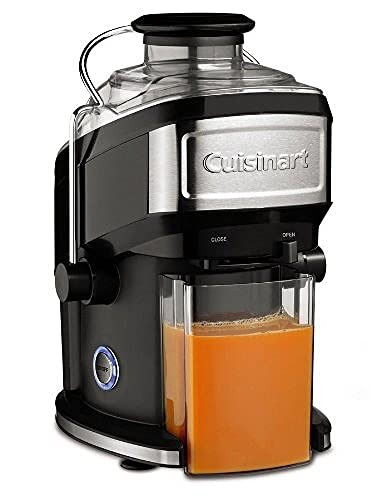 Cuisinart CJE500E Centrifugeuse compacte, Noire / Acier brossé