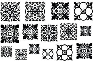 Cool Tools - Jewel Stamps for Soft Clay - Filigree Squares 1