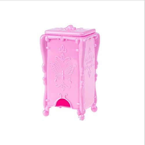 Boîte de rangement vertical élégant de boîte de papillons rose coton coton boule . 5 . 8*7*14.5cm