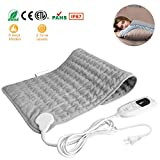 Best Electric Heating Pads - MOHOO Heating Pad, Electric Heating Pad for Cramps Review