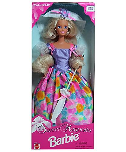 Sweet Magnolia Barbie muñeca con sombrero de sol y paraguas WalMart edición especial (1996)