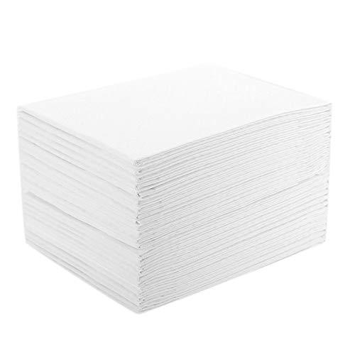 Iycorish 35 PièCes/Paquet Coussin de Soins pour Adultes, Couches Jetables pour Coussin D'Allaitement, 60X60Cm, Tapis de VêLage Maternel, Blanc