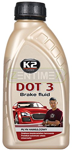 Vollsynthetische Bremsflüssigkeit Hydraulik-Öl Fahrzeugbremssysteme 0,5kg DOT 3 DOT3 / SAE J 1703 / FMVSS 116 DOT 3
