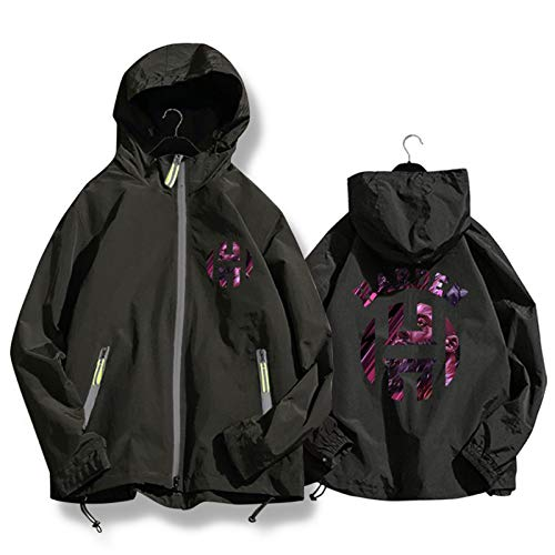 Harden 13 Rockets - Chaqueta de baloncesto con capucha para hombre y mujer, estilo casual, chaqueta de punto negro y XXL