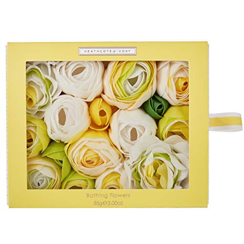 Heathcote & Ivory Neroli and Lime Leaves - Flores de baño (85 g)