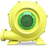 1/2 Hp Commercial Inflatable Bounce House Air Blower - 350 watt Blower Pump Fan for Inflatable Movie Screen Bouncy Castle and Slides(UL certification)